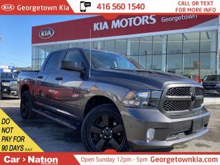 Used 2019 RAM 1500 Classic Express 4x4| 2262KM|CLN CARFAX|BU CAM|TONNEAU CVR for sale in Georgetown, ON