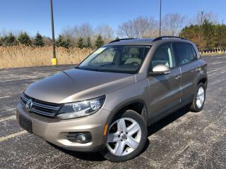 Used 2016 Volkswagen Tiguan Highline 4motion AWD for sale in Cayuga, ON