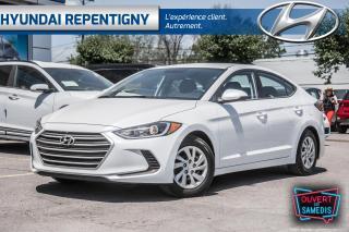 Used 2017 Hyundai Elantra 4DR SDN AUTO LE for sale in Repentigny, QC