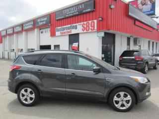 Used 2016 Ford Escape SE $10,495+HST+LIC FEE / CERTIFIED / CLEAN CARFAX REPORT / BACK-UP CAMERA for sale in North York, ON