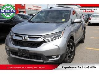 Used 2017 Honda CR-V AWD 5dr Touring for sale in Whitby, ON