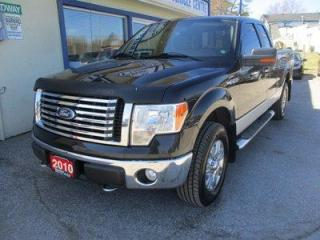 Used 2010 Ford F-150 GREAT KM'S XLT EDITION 6 PASSENGER 5.4L - V8.. 4X4.. EXTENDED-CAB.. SHORTY.. CD/AUX INPUT.. TOW SUPPORT.. FLEX FUEL PACKAGE.. for sale in Bradford, ON