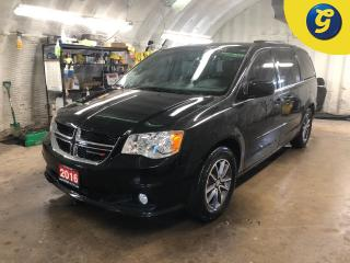 Used 2016 Dodge Grand Caravan PREMIUM PLUS * DVD Overhead * Navigation * Leather * Remote Start * Blueray DVD Entertainment system *  6.5-in Touch/CD/HDD/NAV Garmin Navigation * EC for sale in Cambridge, ON