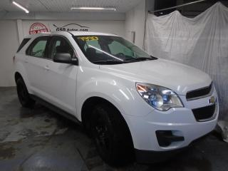Used 2013 Chevrolet Equinox LS for sale in Ancienne Lorette, QC