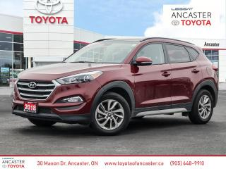 Used 2018 Hyundai Tucson LUXURY - SUNROOF|LEATHER|BACKUP CAMERA|BLUETOOTH for sale in Ancaster, ON