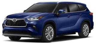 New 2020 Toyota Highlander Limited DEMO for sale in Ancaster, ON