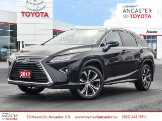 Used 2017 Lexus RX 350 350 - 1 OWNER|NAVI|SUNROOF|LEATHER|CAMERA for sale in Ancaster, ON