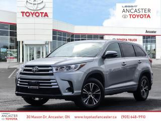 Used 2018 Toyota Highlander LE - BLUETOOTH|HEATED SEATS|BACKUP CAMERA for sale in Ancaster, ON