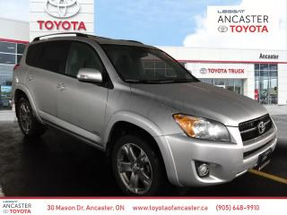 Used 2011 Toyota RAV4 SPORT - LOW KMS|LEATHER|SUNROOF|ALLOYS for sale in Ancaster, ON
