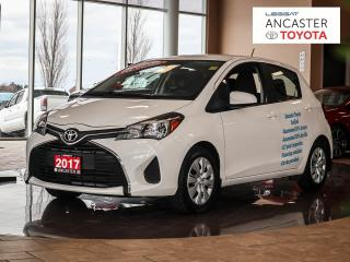 Used 2017 Toyota Yaris LE - 1 OWNER BLUETOOTH POWER GROUP KEYLESS for sale in Ancaster, ON