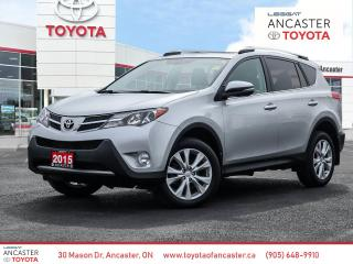 Used 2015 Toyota RAV4 LIMITED - NAVI|LEATHER|SUNROOF|BLUETOOTH|CAMERA for sale in Ancaster, ON