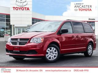 Used 2013 Dodge Grand Caravan SE/SXT SE - 1 OWNER|LOW KMS|STOW'N GO|KEYLESS ENTRY for sale in Ancaster, ON