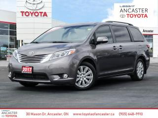 Used 2017 Toyota Sienna LIMITED - NAVI|DVD|LEATHER for sale in Ancaster, ON