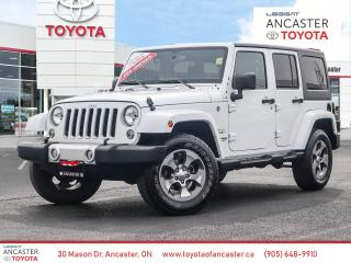 Used 2018 Jeep Wrangler JK Unlimited Sahara UNLIMITED SAHARA - NAVI|BLUETOOTH|ALLOY WHEELS for sale in Ancaster, ON