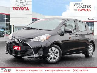 Used 2017 Toyota Yaris LE - LOW KMS 1 OWNER NO ACCIDENTS BLUETOOTH for sale in Ancaster, ON
