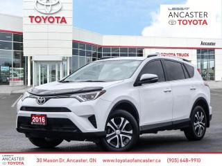 Used 2016 Toyota RAV4 LE - 1 OWNER LOW KMS BLUETOOTH CAMERA for sale in Ancaster, ON