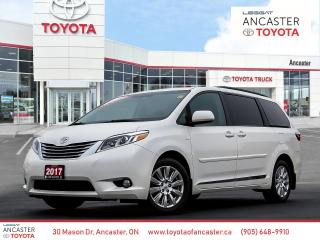 Used 2017 Toyota Sienna XLE - NAVI|LEATHER|SUNROOF for sale in Ancaster, ON