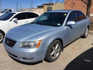 Used 2006 Hyundai Sonata GL V6 - AUTO|A/C|POWER GROUP|ALLOYS for sale in Ancaster, ON