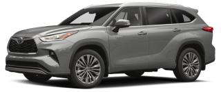 New 2020 Toyota Highlander HYBRID XLE for sale in Ancaster, ON