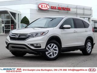 Used 2016 Honda CR-V EX/ONE OWNER /CLEAN CARFAX/NEW ALL SEASON TIRES AND WINTER TIRES /EXT WARRANTY 120 000 KM COMP for sale in Burlington, ON