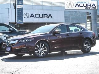 Used 2016 Acura TLX Tech 4DR SDN FWD TECH for sale in Burlington, ON