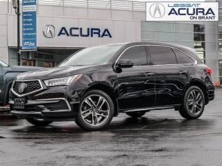 Used 2017 Acura MDX Technology Package SH-AWD 4dr Tech Pkg for sale in Burlington, ON