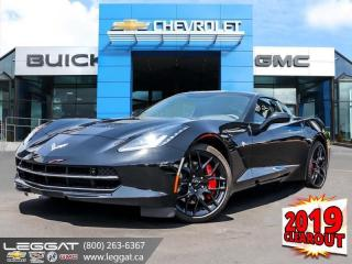 New 2019 Chevrolet Corvette Stingray Z51 - Navigation for sale in Burlington, ON