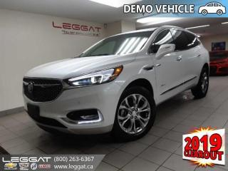 New 2019 Buick Enclave Avenir - Cooled Seats - Sunroof for sale in Burlington, ON