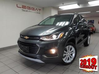 New 2019 Chevrolet Trax Premier - Sunroof for sale in Burlington, ON