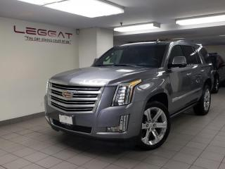 New 2019 Cadillac Escalade Platinum - Sunroof - Cooled Seats for sale in Burlington, ON