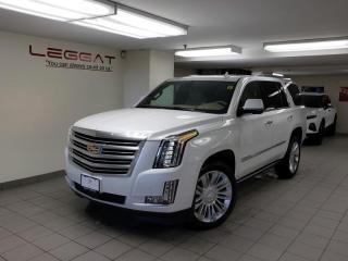 New 2020 Cadillac Escalade Platinum -  Navigation for sale in Burlington, ON