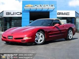 Used 1999 Chevrolet Corvette - Low Mileage for sale in Burlington, ON