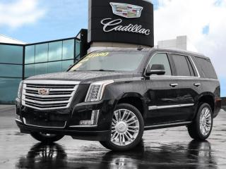 Used 2018 Cadillac Escalade Platinum One owner | Low KMS! for sale in Burlington, ON