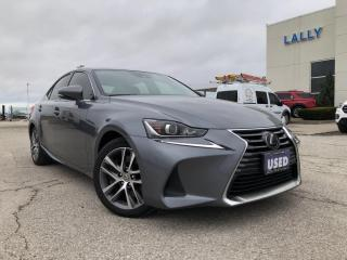 Used 2018 Lexus IS 300 IS 300 AWD|Leather|HTD seats|Adaptive cruise for sale in Leamington, ON