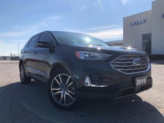 Used 2019 Ford Edge Titanium AWD|Leather|HTD seats|Remote start|Navi| for sale in Leamington, ON