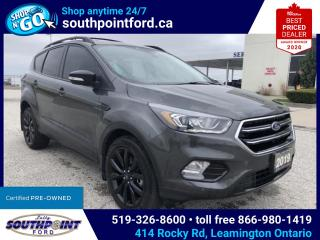 Used 2019 Ford Escape Titanium TITANIUM|AWD|HTD SEATS|NAV|SUNROOF|HTD STEERING|REMOTE START for sale in Leamington, ON