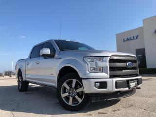 Used 2017 Ford F-150 Lariat 4X4 3.5L Leather HTD&Cooled seats Navi Remo for sale in Leamington, ON