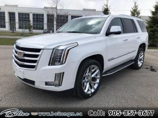 New 2020 Cadillac Escalade Premium Luxury - Leather Seats for sale in Bolton, ON