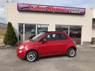 Used 2012 Fiat 500 C Pop Convertible for sale in Tilbury, ON