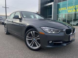 Used 2015 BMW 3 Series xDrive Sedan for sale in Chatham, ON