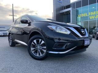 Used 2015 Nissan Murano S FWD 3.5L V6 for sale in Chatham, ON
