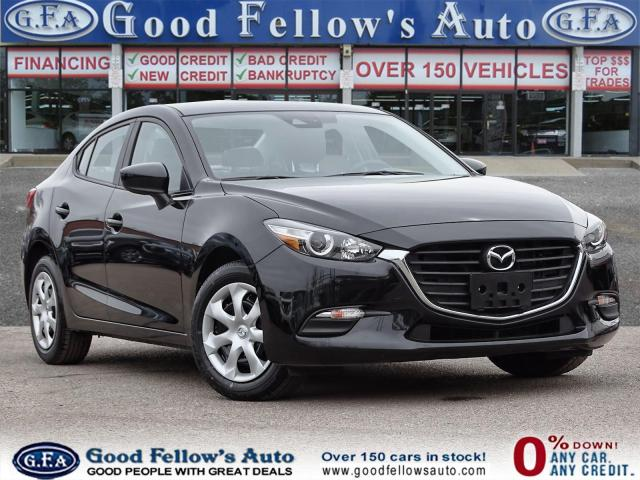 2018 Mazda MAZDA3 GX MODEL, SKYACTIV, BLUETOOTH, REARVIEW CAMERA