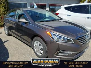 Used 2017 Hyundai Sonata for sale in St-Félicien, QC