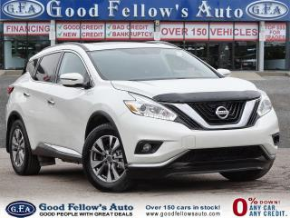 Used 2016 Nissan Murano SV MODEL, 6CYL 3.5L, AWD, NAVIGATION, PAN ROOF for sale in Toronto, ON