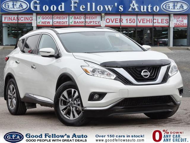 2016 Nissan Murano SV MODEL, 6CYL 3.5L, AWD, NAVIGATION, PAN ROOF