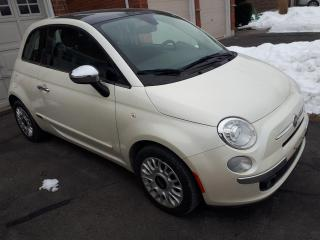Used 2013 Fiat 500 2dr HB Lounge for sale in Oshawa, ON