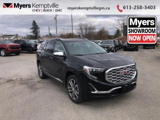 New 2020 GMC Terrain Denali  - Navigation - Heated Seats for sale in Kemptville, ON