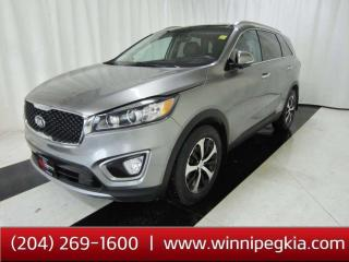 Used 2016 Kia Sorento 3.3L EX+ *Always Owned In MB!* for sale in Winnipeg, MB