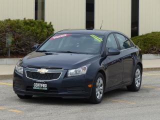 Used 2014 Chevrolet Cruze REAR-CAMERA,1LT,BLUETOOTH,NO-ACCIDENTS,REDUCED for sale in Mississauga, ON