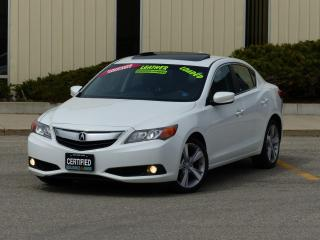 Used 2013 Acura ILX REAR-CAM,LEATHER,PREMIUM PCKG,FULL OPTION,REDUCED for sale in Mississauga, ON